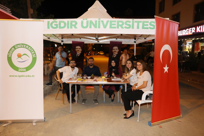 Üniversitemiz Tercih Dönemi için Tanıtım Standı Kurdu