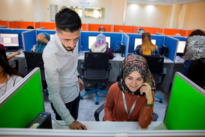 Iğdır Üniversitesi Kampüsünde Bulunan Çağrı Merkezi Hizmet Vermeye Başladı
