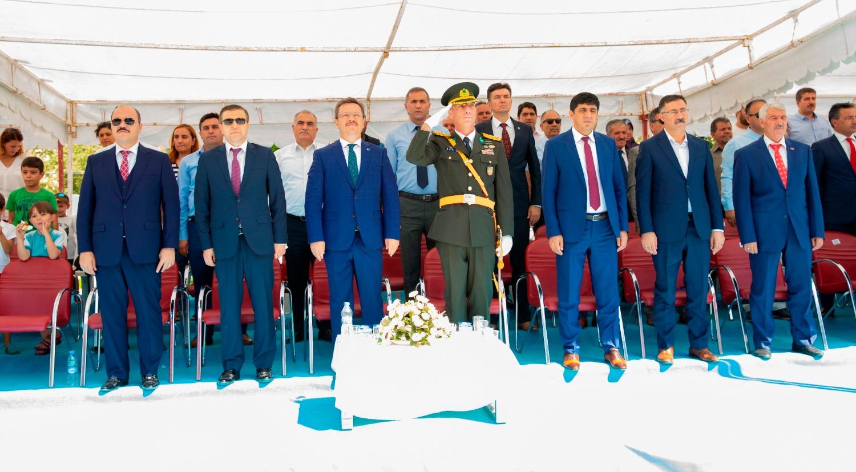 Rektörümüz, 30 Ağustos Zafer Bayramı kutlamalarına katıldı