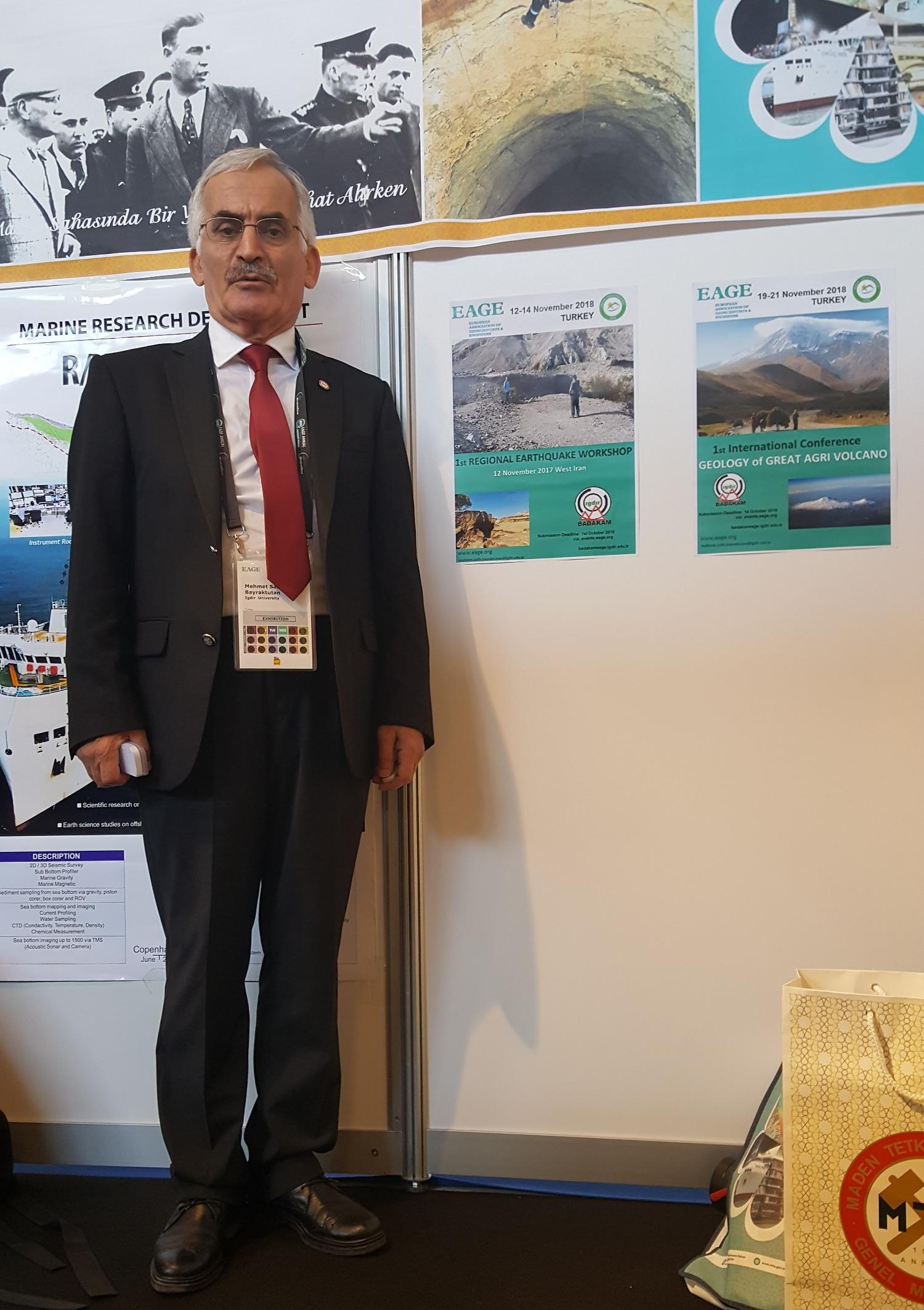 Üniversitemiz 80. Avrupa Yerbilimciler ve Mühendisler Birliği'nin (EAGE) Konferans ve Sergisinde Temsil Edildi