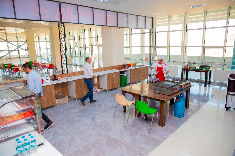 Mediko-Sosyal Binası İçinde Yer Alan Kafeterya Hizmet Vermeye Başladı