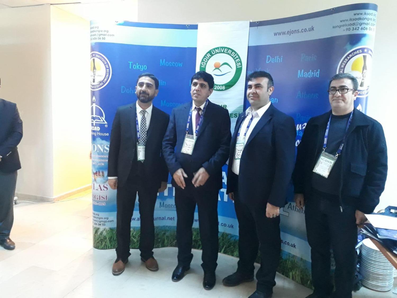 Iğdır I. Multi Disipliner Çalışmalar Kongresi Kapsamında Sergi Düzenlendi