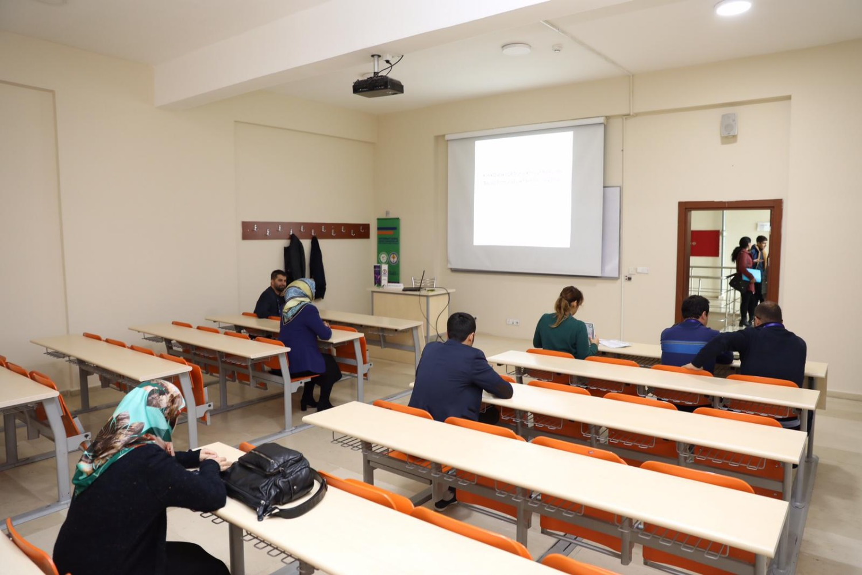 Üniversitemizde Yapılan Iğdır I. Uluslararası Multi Disipliner Çalışmalar Kongresi Devam Ediyor
