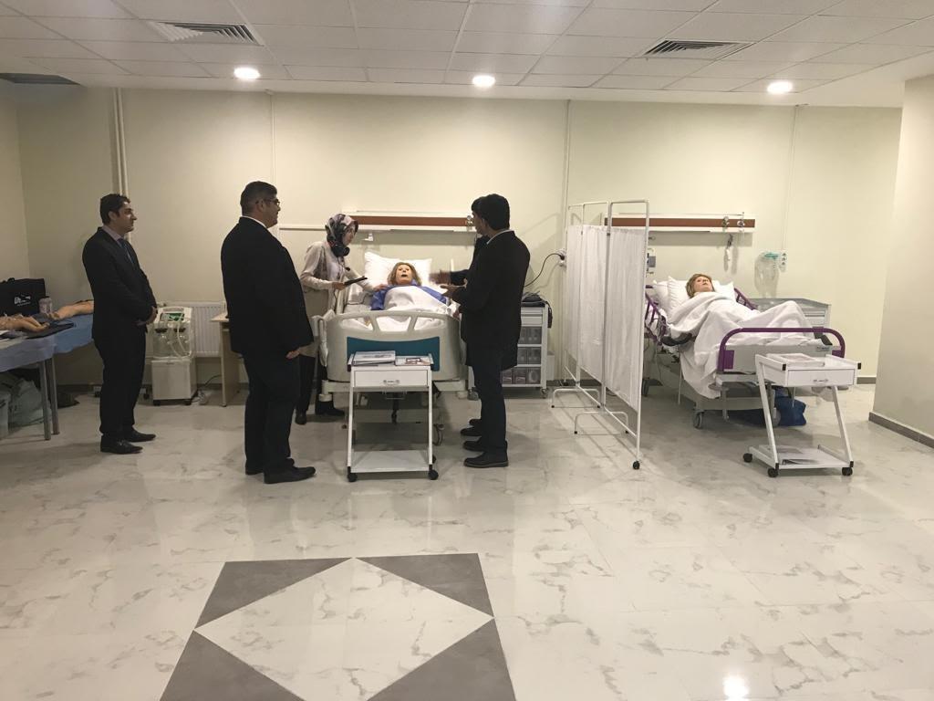Sağlık Hizmetleri Meslek Yüksekokulu Bünyesinde Simülasyon Laboratuvarı Kuruldu