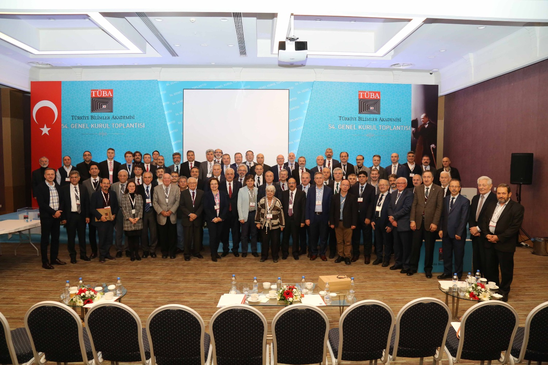 TÜBA Asli Üyesi Rektör Alma 54. Genel Kurul Toplantısına Katıldı