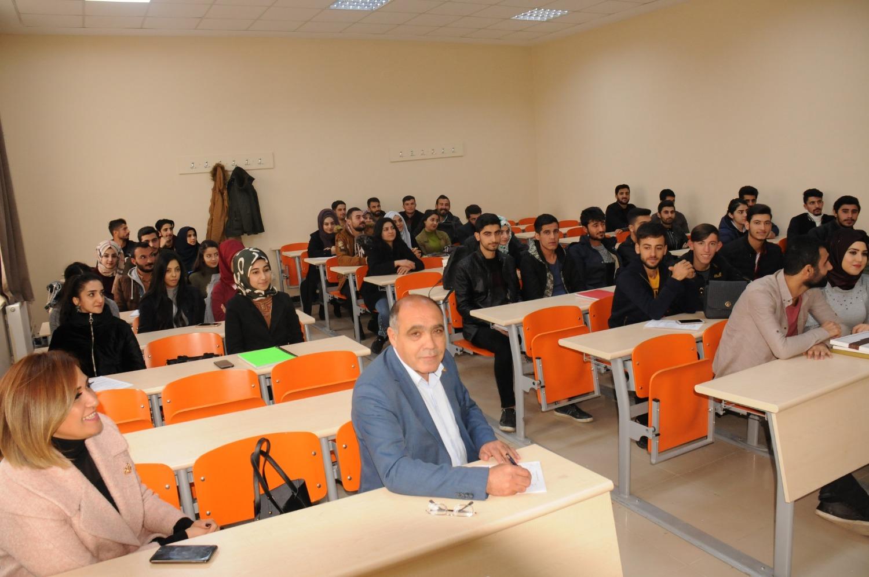 Ticaret ve Sanayi Odası Başkanı Kamil Arslan Öğrencilere Ders Verdi