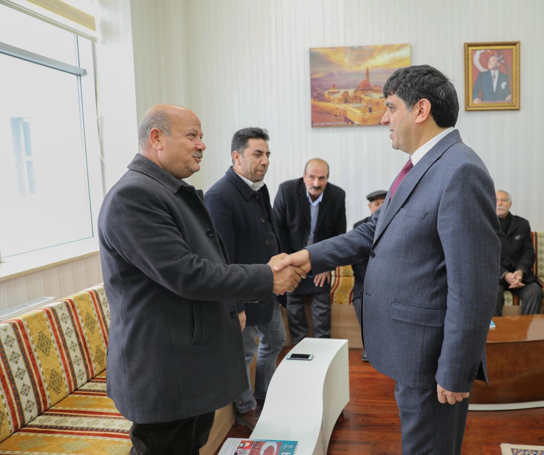 Rektör Alma, Aralık ve Karakoyunlu'daki Muhtarları Ağırladı