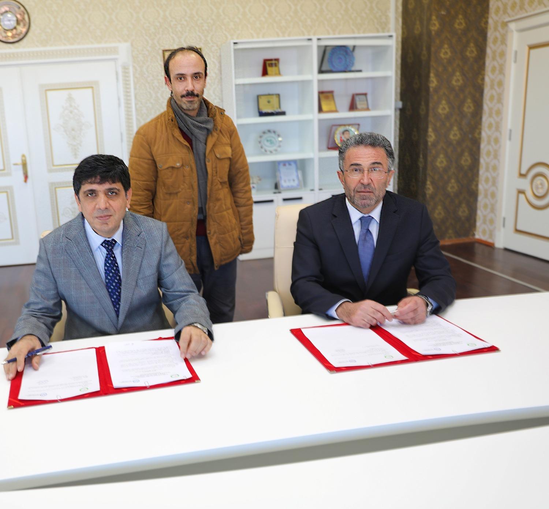 Üniversitemiz ve Iğdır İl Müftülüğü Arasında Lisansüstü İş Birliği Protokolü İmzalandı