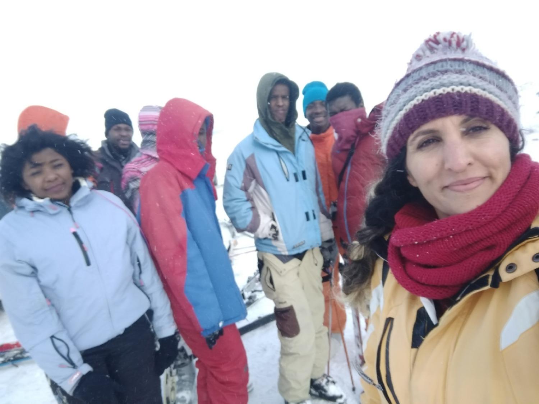 Üniversitemiz Öğrencileri Sarıkamış'ta Düzenlenen Kış Oyunları Festivaline Katıldı