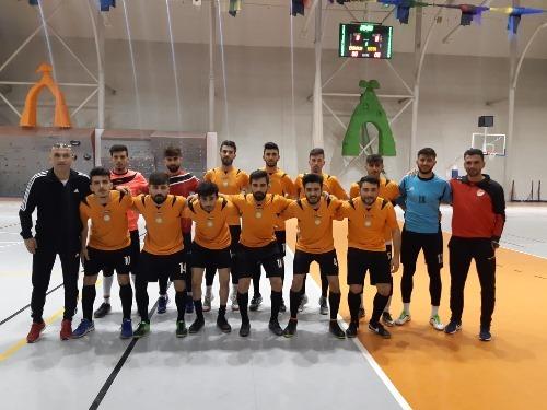 Üniversitemiz Salon Futbol Takımı Üniversitelerarası Müsabakalarda 2. Olmuştur
