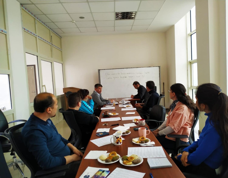 DİL ve EDEBİYAT SÖYLEŞİLERİ adlı seminerlerden beşincisi gerçekleştirildi..