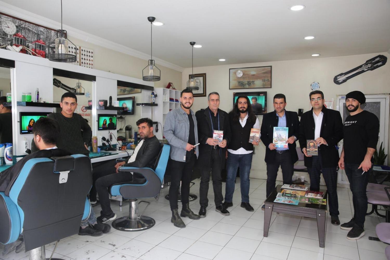 Üniversitemiz tarafından 'Berberde Okuyorum Projesi' Başlatıldı