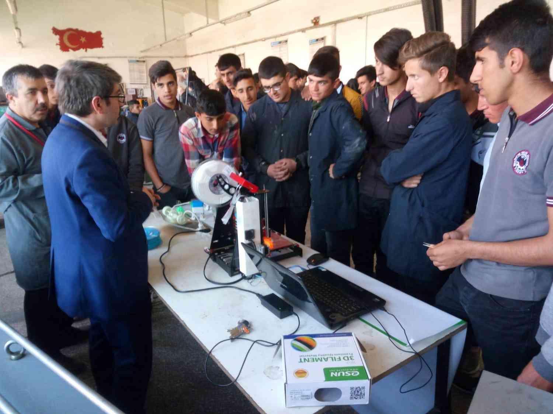 Mekanik Elektronik Robotik Topluluğu Tanıtım Gezisi Yaptı