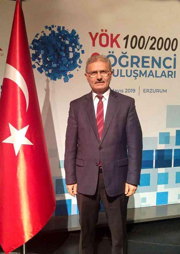 Rektör Yardımcısı Çelebi, YÖK 100/2000 Öğrenci Buluşmalarına Katıldı