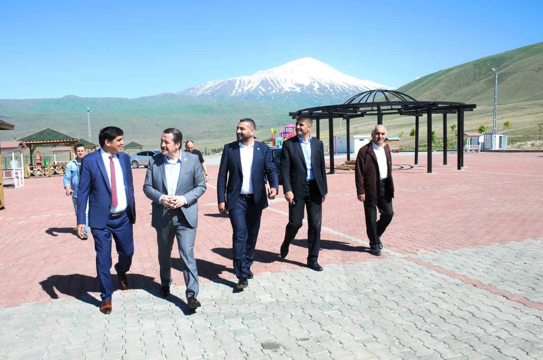 Başkan Yalçın'dan Rektör Alma'ya Ziyaret