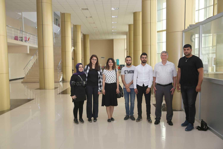YÖKAK Değerlendirme Ekibi Üyeleri Üniversitemize Ön Ziyarette Bulundu