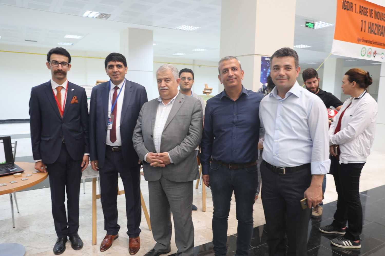 İstanbul Üniversitesi Proje Grubundan Rektör Alma'ya Ziyaret