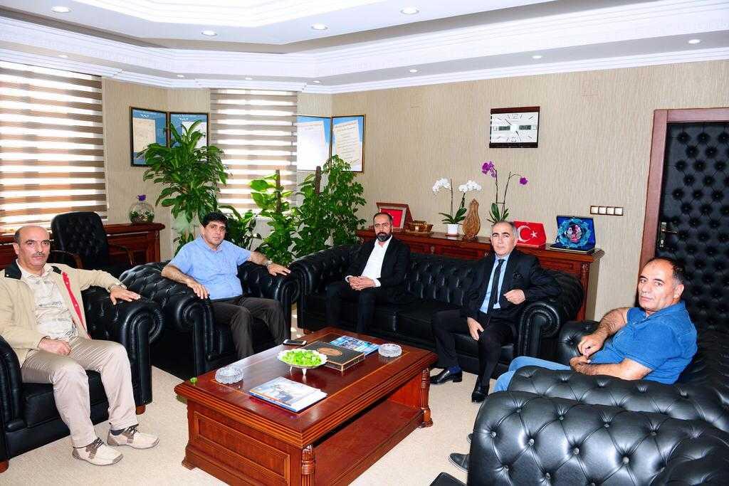 Rektör Alma'dan Van Yüzüncü Yıl Üniversitesi Rektörü Prof. Dr. Hamdullah Şevli'ye Hayırlı Olsun Ziyareti