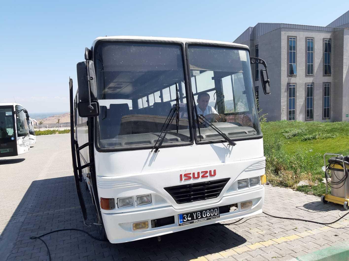 İstanbul Büyükşehir Belediyesi Üniversitemize Bir Otobüs Hibe  Etti