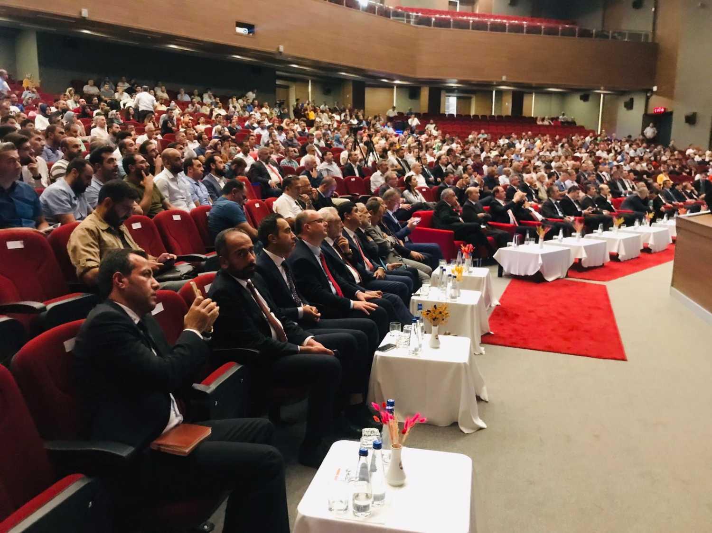 """Üniversitemiz Rektörü Prof. Dr. Mehmet Hakkı Alma, """"Türkiye'nin Fırsat Penceresi: Türk Yükseköğretimi"""" Adlı Toplantıya Katıldı"""