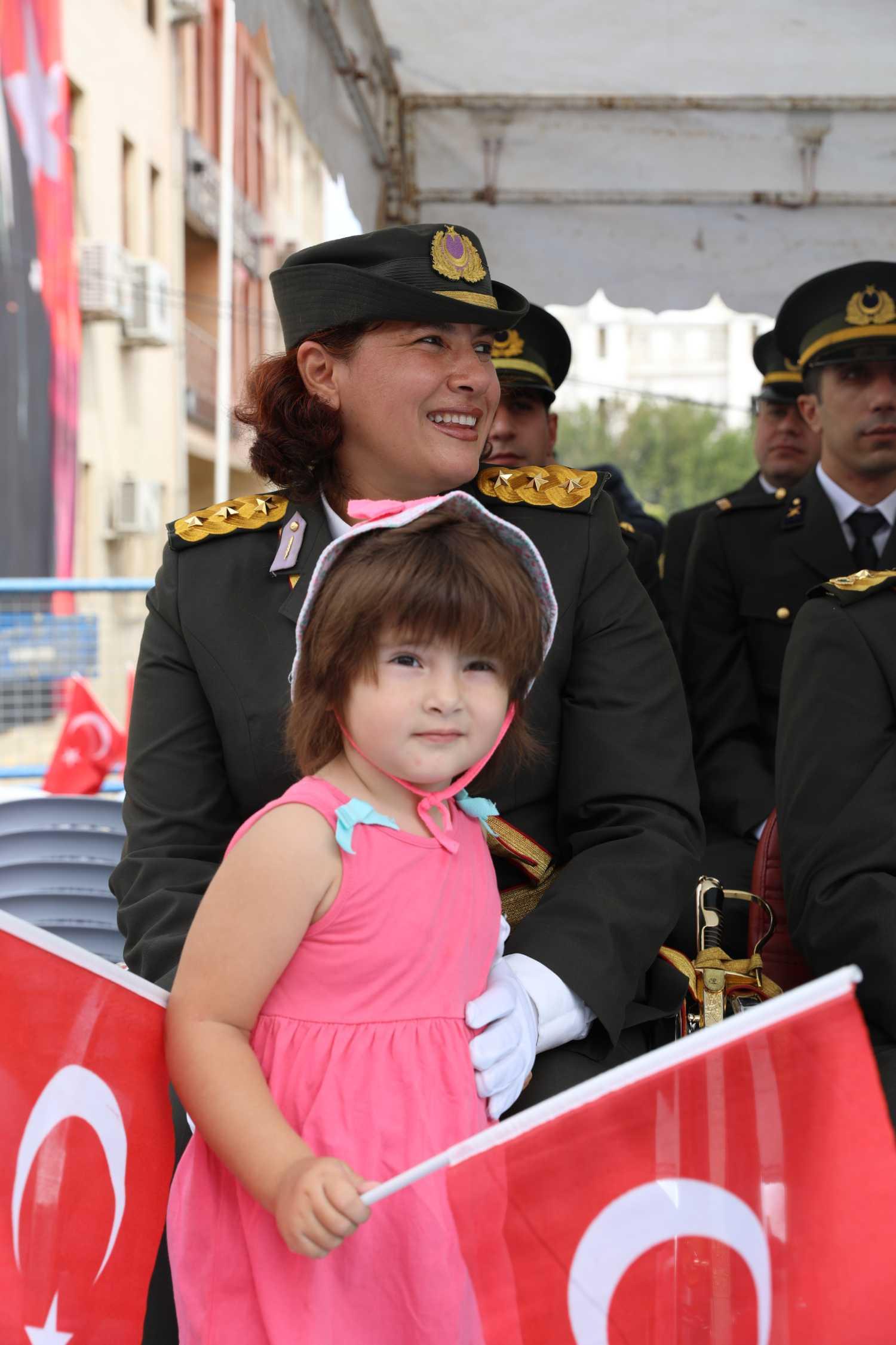 Rektör Alma 30 Ağustos Zafer Bayramı Kutlamalarına Katıldı