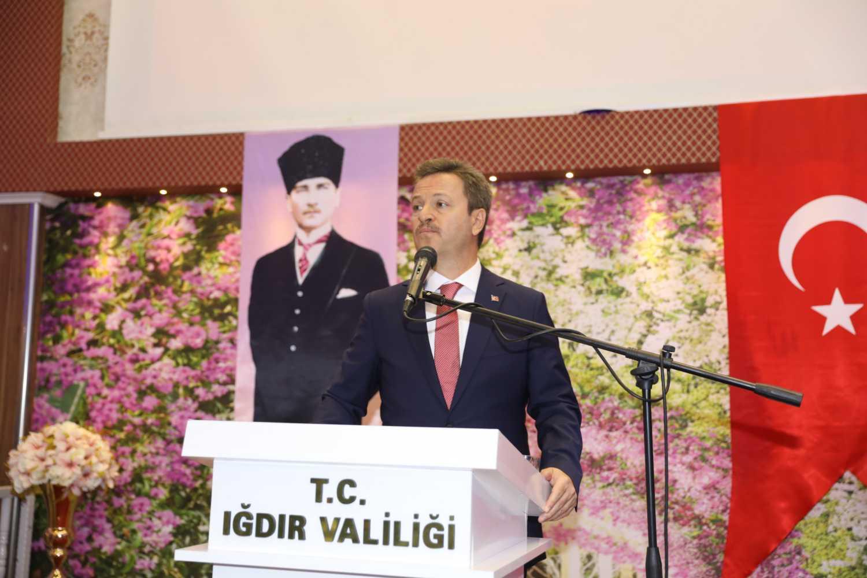 Rektör Alma, Vali Enver Ünlü Tarafından Düzenlenen 30 Ağustos Zafer Bayramı Resepsiyonuna Katıldı