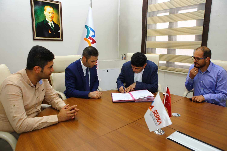 Üniversitemiz ile SERKA (Serhat Kalkınma Ajansı) Arasında İşbirliği Protokolü İmzalandı