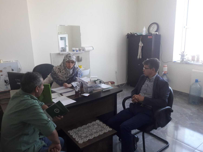 Rektör Yardımcısı Karavelioğlu, Mediko-Sosyal Binasında İncelemelerde Bulundu