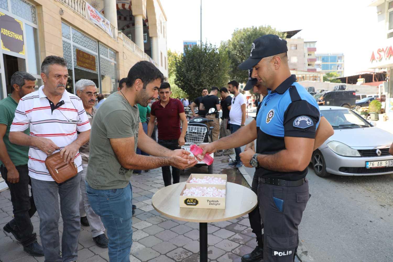 Iğdır'da Şehit Olan 13 Polis İçin Mevlit Okundu