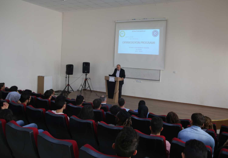 İİBF Öğrencileri İçin Oryantasyon Programı Düzenlendi