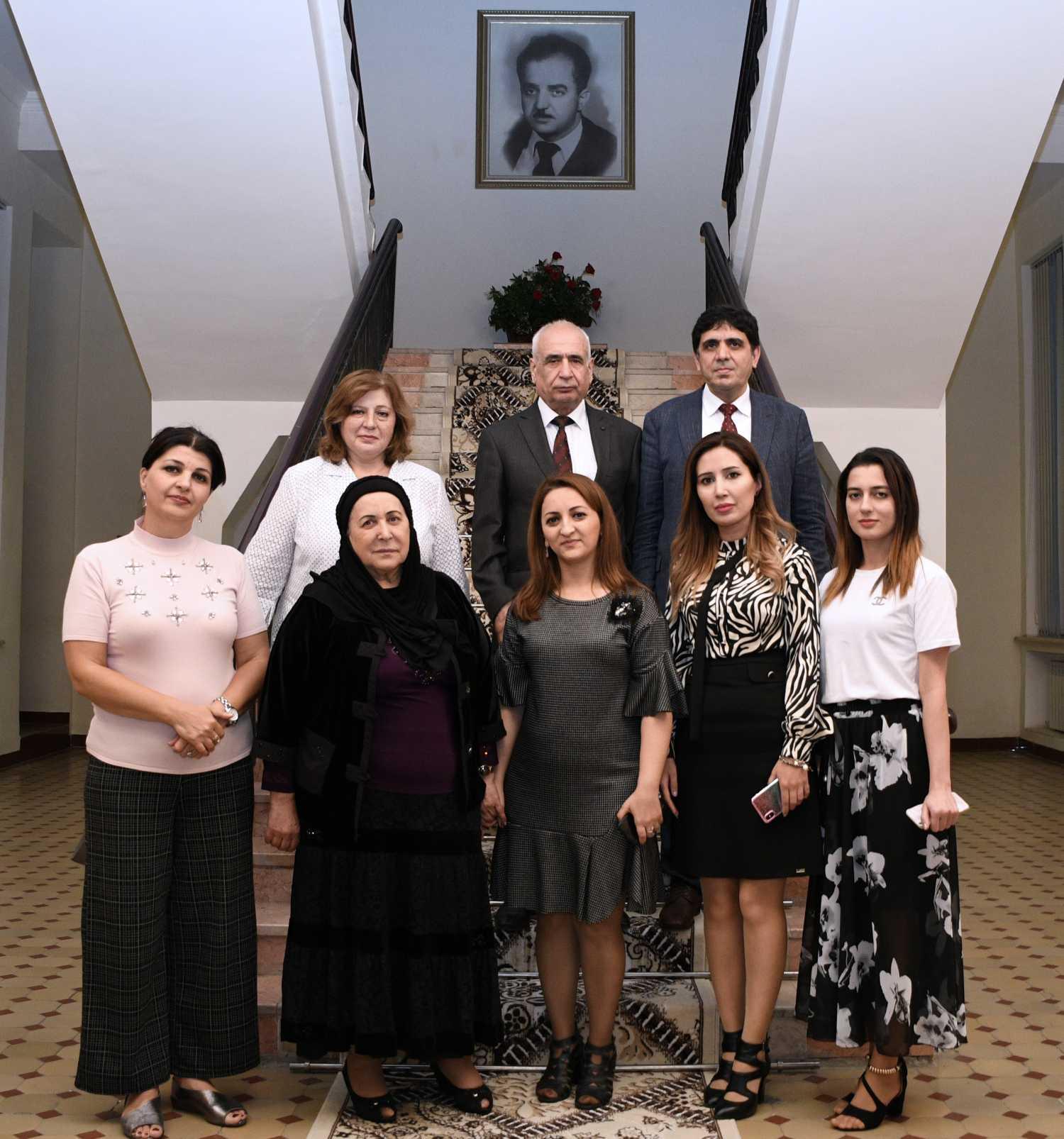 Rektör Alma, Azerbaycan Milli İlimler Akademisi'yle İkili Diploma Anlaşması İmzaladı
