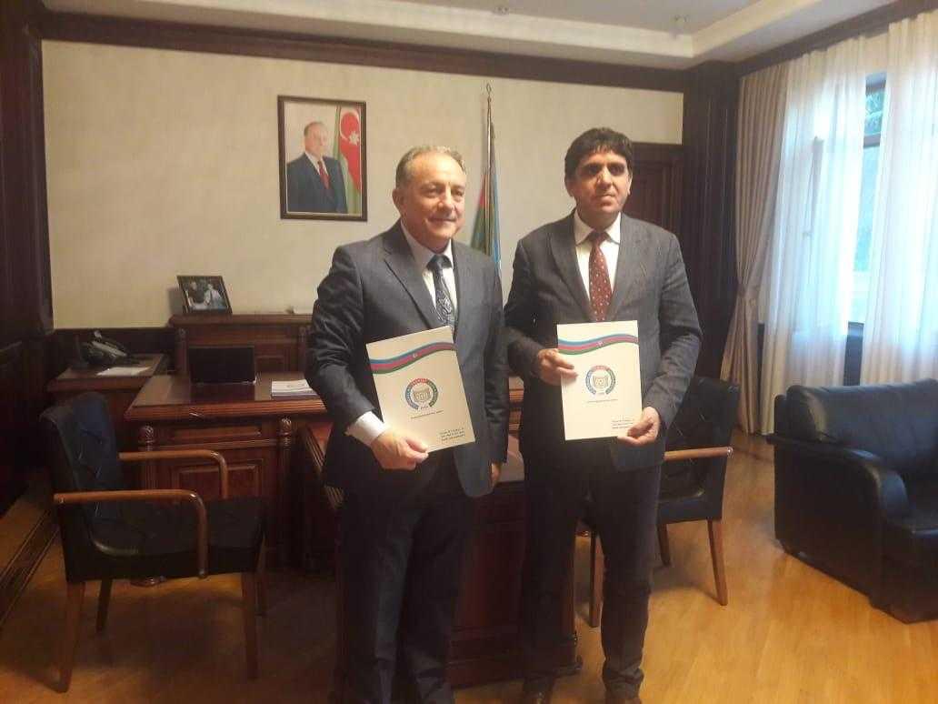 Rektör Alma Azerbaycan Teknik Üniversitesi ile İkili Diploma Anlaşması İmzaladı