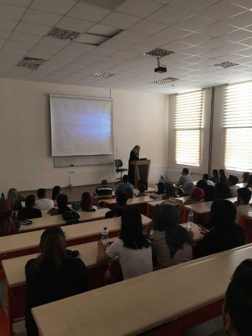 """""""Erasmus+Ka107 Projesi"""" Kapsamında Üniversitemiz Bosna Hersek'ten 2 Akademik Personeli Ağırladı"""