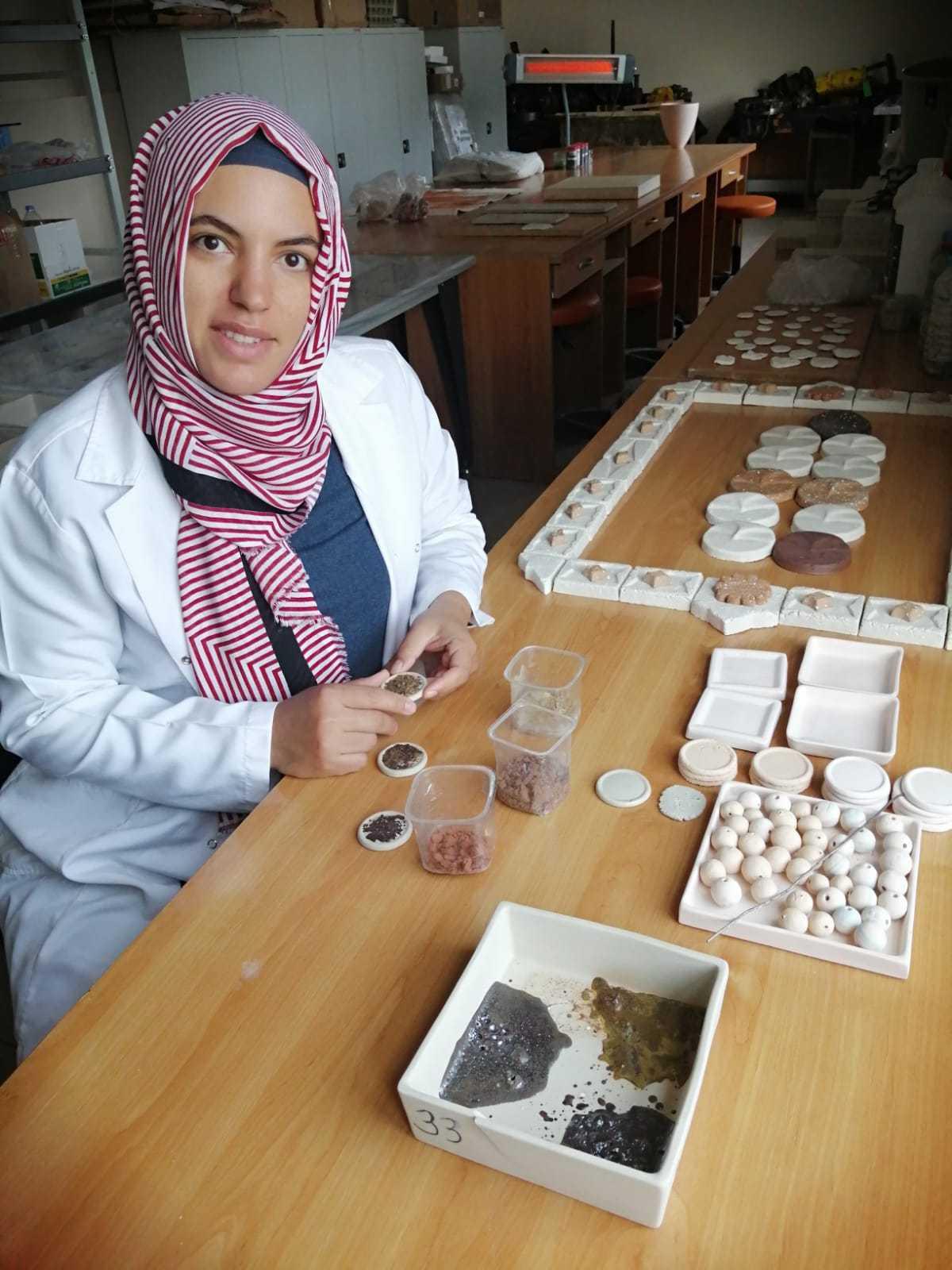 Seramik, Cam ve Çinicilik Atölyesi Üretime Başladı