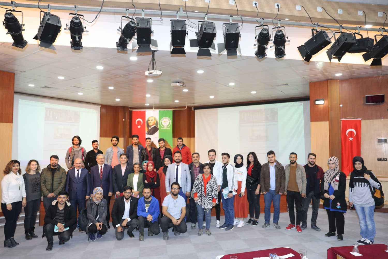 Doç. Dr. Barış Alpaslan Üniversitemizde Konferans Verdi