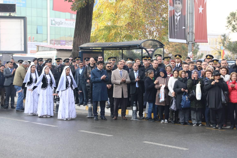 Rektör Alma Iğdır'ın Kurtuluşunun 99. Yıl Dönümü Kutlamalarına Katıldı