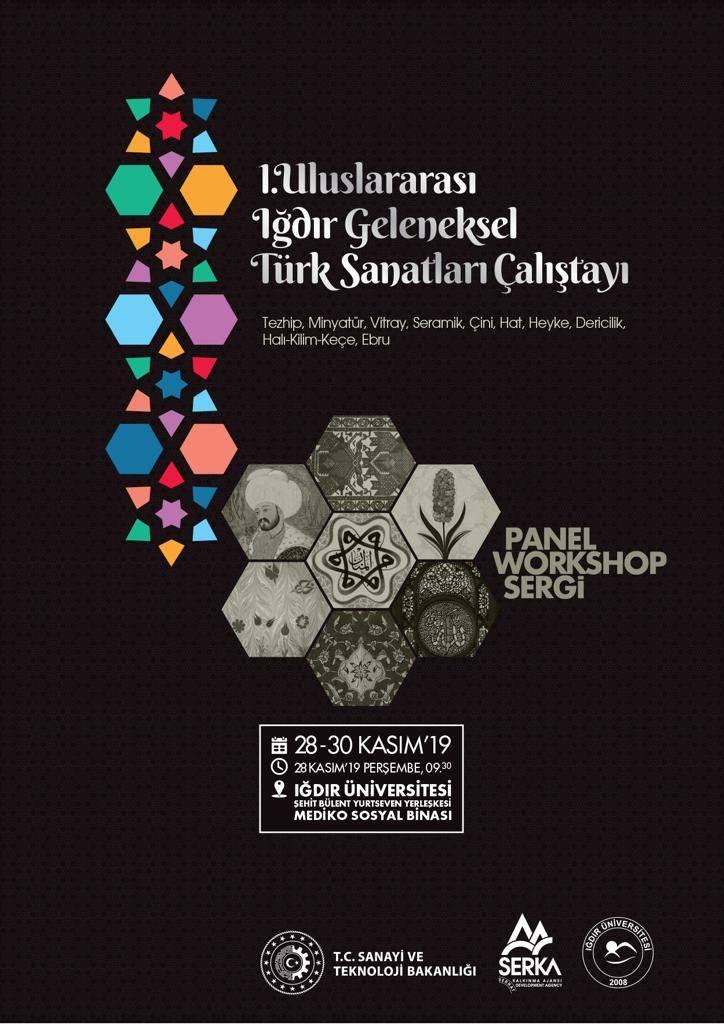I. Uluslararası Iğdır Geleneksel Türk Sanatları Çalıştayı Düzenlenecek