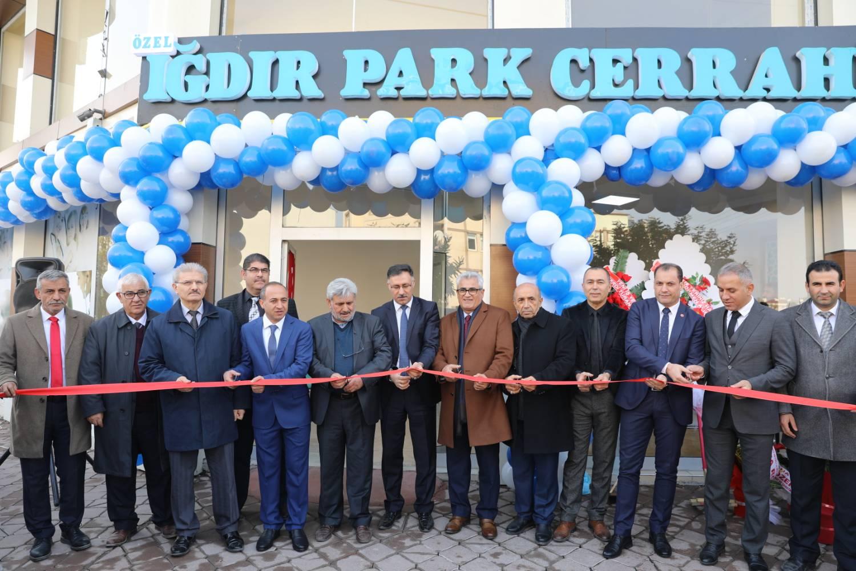 Rektör Vekili Çelebi Iğdır Park Cerrahi Tıp Merkezi'nin Açılış Törenine Katıldı