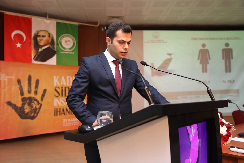 Rektör Vekili Prof. Dr. Çelebi, 'Kadına Yönelik Şiddet 'Programına Katıldı