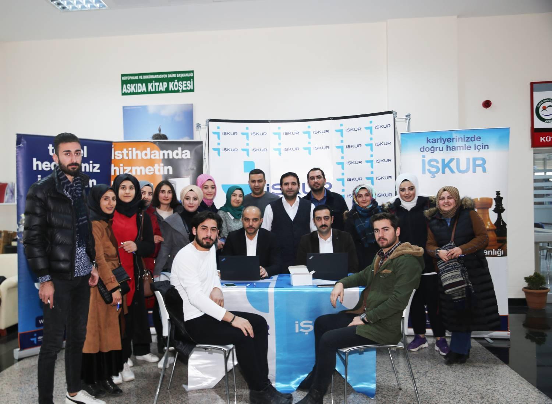Üniversitemizde İŞKUR Standı Açıldı