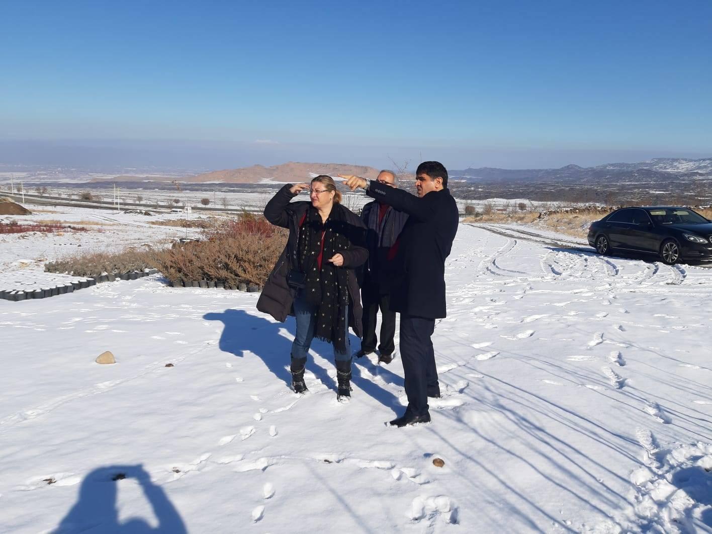 Uluslararası Satış Uzmanı Jasmin Gülener Iğdır Üniversitesi'ni Ziyaret Etti