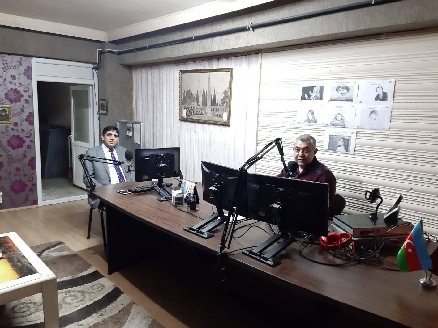 Rektör Alma, Iğdır FM'e Konuk Oldu