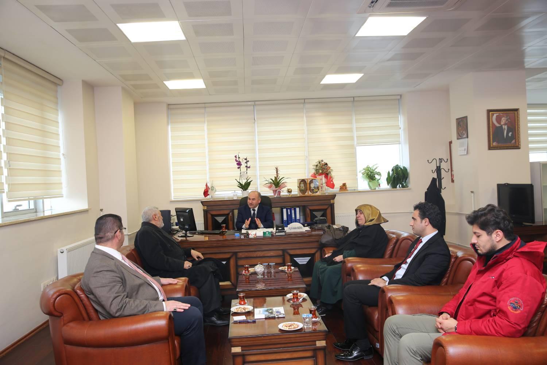 Şehit Başkomiser Bülent Yurtseven'in Ailesi Üniversitemizi Ziyaret Etti