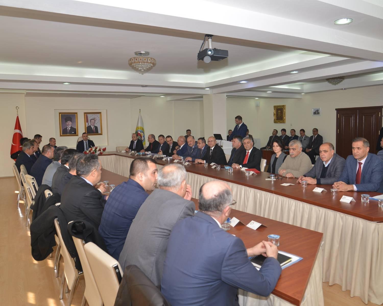 Rektör Vekili Demirtaş İl Koordinasyon Kurulu Toplantısına Katıldı