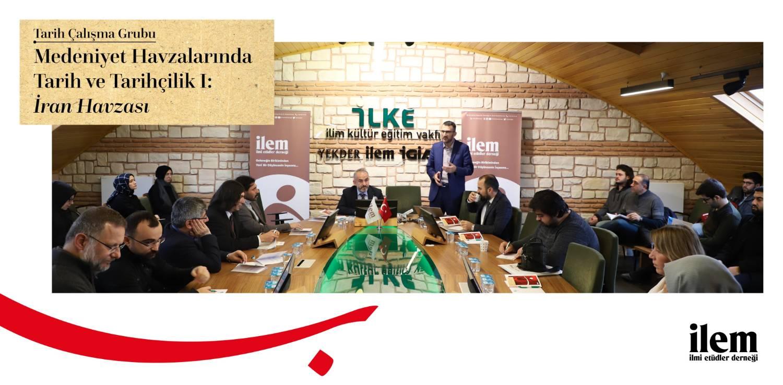Bölümümüz Öğretim Üyelerinden Mehmet Dağlar İstanbul' da Medeniyet Havzaları Çalıştayı'na Katıldı...