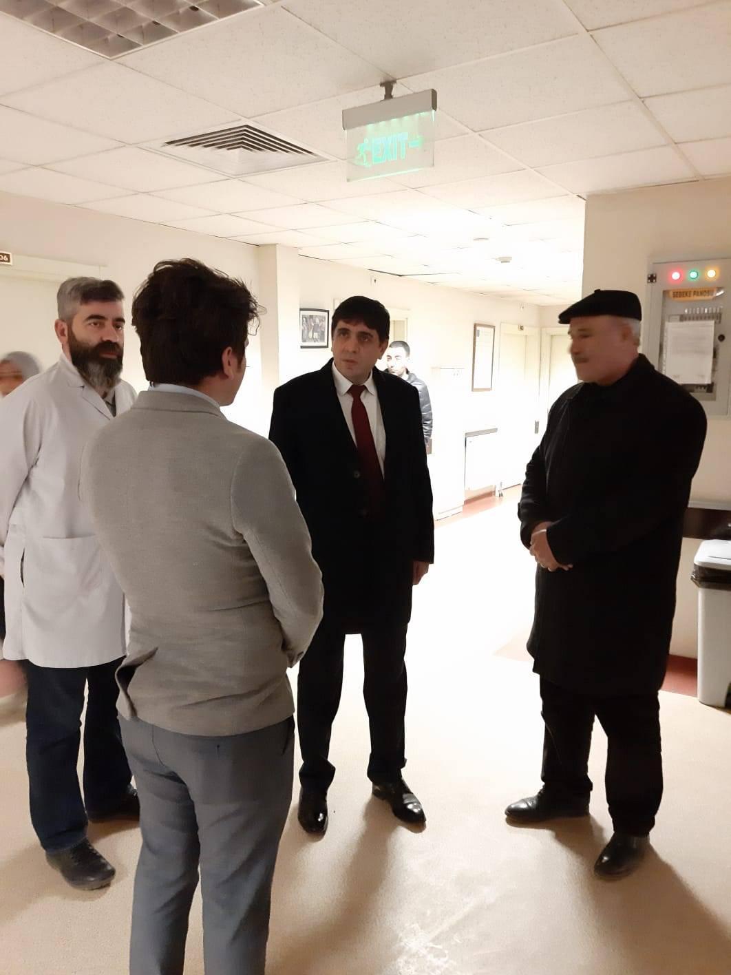 Rektör Alma'dan Özel Bulut Hastanesine İade-i Ziyaret
