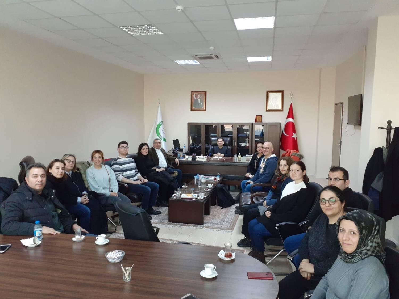 Erasmus Proje Grubu Mühendislik Fakültesini Ziyaret Etti