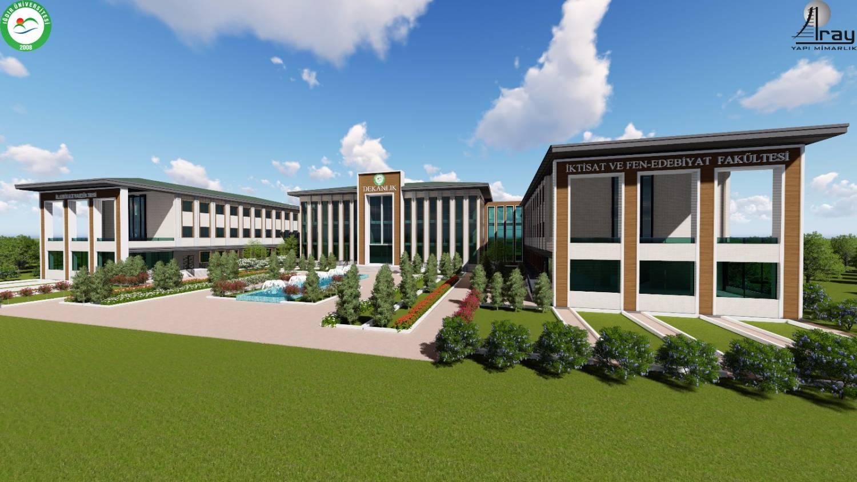 Üniversitemizin 2020 Yılı Yatırım Projeleri Cumhurbaşkanlığından Onay Aldı