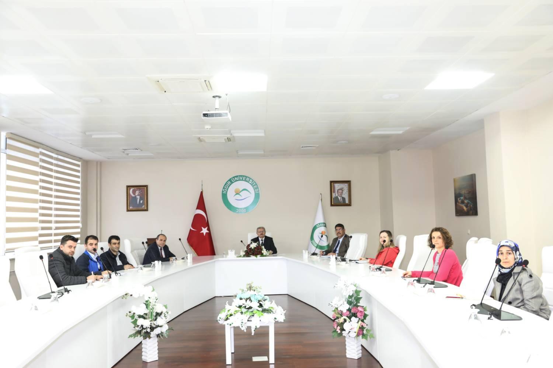 Iğdır Üniversitesinde Covid-19 Toplantısı Yapıldı