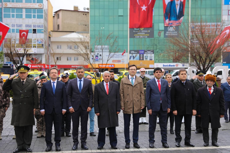 Rektör Alma 18 Mart Çanakkale Zaferi ve Şehitleri Anma Günü Törenlerine Katıldı